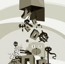 Finalista Portada y Contra, revista Yorokobu. A Design, Illustration, and Advertising project by Carlos Huerta Vaquerizo         - 06.02.2013