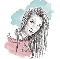 Ilustración línea y acuarela. Un proyecto de Ilustración de Ruth Domínguez         - 18.02.2013