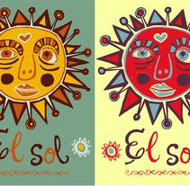 Sol. Un proyecto de Diseño e Ilustración de Denise Turu - 25-02-2013