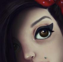Amy Winehouse Fan-art . Un proyecto de Diseño e Ilustración de Ale Michel         - 05.03.2013