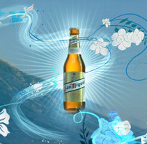 San Miguel Surf. A Design, Advertising, Motion Graphics, Film, Video, TV, and 3D project by Rubén Dené         - 09.03.2013