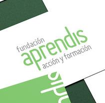 Manual de Identidad Corporativa Fundación Aprendis. A Design, Advertising, and UI / UX project by Víctor Rodrigo Ruiz         - 23.03.2013
