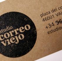 logo correo viejo. Un proyecto de Diseño de Chary Esteve Vargas - 24-03-2013