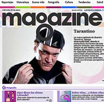 MAGAZINEDIGITAL.COM. Um projeto de Design e UI / UX de Francesc Risalde - 27-03-2013