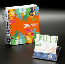 Calendario y Agenda Solidaria G3 para 2014. Um projeto de Design, Publicidade e Fotografia de Artes Gráficas G3, S.A. - Soluciones de Producción         - 27.03.2013