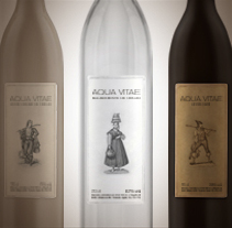 Aqua Vitae aguardiente. A Graphic Design, and Packaging project by Marcelo Garolla Artuso - 31-03-2013