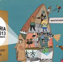 Festival Imaginaria. Un proyecto de Diseño e Ilustración de Judit Canela         - 03.04.2013