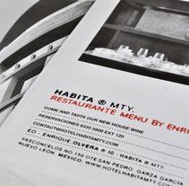 Habita Mty. Un proyecto de Diseño de Cynthia Corona - 04-04-2013