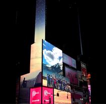 TURISMO DE PERU en TIMES SQUARE. Un proyecto de Publicidad, Motion Graphics, Instalaciones, Fotografía, Cine, vídeo, televisión y UI / UX de Juanjo Ocio         - 05.04.2013