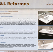 M&L Reformas. A Design, Advertising, and UI / UX project by AOH  - 09-04-2013