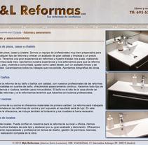M&L Reformas. Un proyecto de Publicidad, UI / UX y Diseño de AOH  - 09.04.2013