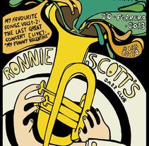 Concierto Jazz Tributo Chet Baker. A Design, Illustration, and Advertising project by ZANART - 19-04-2013