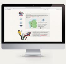 Web para Home a tope. Um projeto de Design, Publicidade e Desenvolvimento de software de Manu Lagrimal         - 30.04.2013