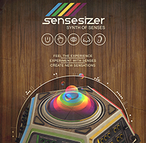 Sensesizer. A Design, Illustration, Advertising, and 3D project by DSORDER  - 14-05-2013