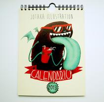 Calendario 2013. Un proyecto de Diseño e Ilustración de Jotaká  - 21-05-2013