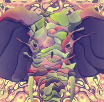Poster Tame Impala. A Design, and Motion Graphics project by Cristian Eres         - 28.05.2013