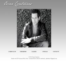 Actor Oscar Contreras. A Design, Film, Video, TV&IT project by Guillermo Vázquez         - 27.05.2013