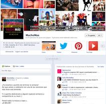 Facebook de varias páginas. Un proyecto de Publicidad de Periodista polivante SM, CM, RRPP, contenidos         - 07.06.2013