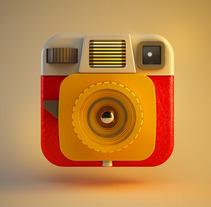 camera app. A Design, and 3D project by zigor samaniego         - 28.06.2013