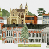 Madrid. A Illustration project by Sara Olmos - 03-07-2013