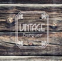 Vintage Burguer identity. Um projeto de Design de Aurora Sanz - 16-07-2013
