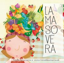 Mercat de Cançons. A Illustration project by Elisa Bernat         - 29.07.2013