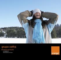 Imagen gráfica Orange . Un proyecto de Diseño y Publicidad de Samuel Herrera Pérez         - 08.08.2013