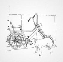 Bicis callejeras. Un proyecto de Ilustración de Jose Mª Quirós Espigares - 18-08-2013