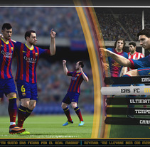 FIFA Concept Arts. A Design&Illustration project by Eloy Pardo Rouco         - 08.09.2013
