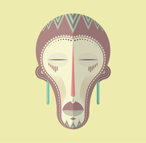 Máscaras africanas. A Design&Illustration project by choke         - 17.09.2013