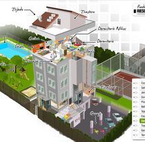 Seguridad en el Hogar: Cómo evitar accidentes en tu casa. A Design&Illustration project by Miguel Perrino López         - 30.05.2014