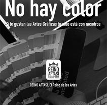 Carteles publicitarios Reino Afasí.. A Design, and Advertising project by Alexander Caro         - 28.09.2013