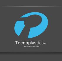 Logotipo Tecnoplastics. A  project by Gerardo Espinosa Castillo         - 09.10.2013