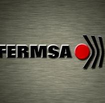 FERMSA S.A. – Logo animation. Um projeto de Publicidade, Motion Graphics e Cinema, Vídeo e TV de Clara Sagarra Valls         - 11.10.2013