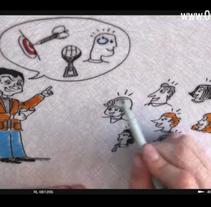 VideoMarketing - OscarCaceres. Um projeto de Ilustração, Publicidade e Cinema, Vídeo e TV de Gonzalo Soto Silva         - 11.10.2013