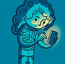I feel alone. Un proyecto de Ilustración y Diseño de personajes de Jimena Catalina Gayo - 14.10.2013