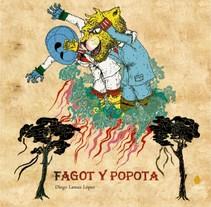 Fagot y Popota el cuento. A Illustration project by Diego Lamas López         - 16.10.2013