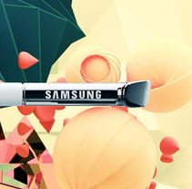 Samsung S-Pen. A Design, Illustration, Advertising, Motion Graphics, Film, Video, TV, and 3D project by Pau Ju         - 22.10.2013