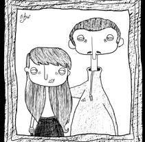 Black & White. A Illustration project by Silvia Picazo Aguirregabiria         - 28.10.2013