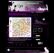 Observatorio Wireless. A Software Development project by Daniel Maza Arredondo - 05-11-2013