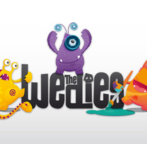 THE WEDIES. A Design, Illustration, Br, ing, Identit, Character Design, and Graphic Design project by Marta Serrano Sánchez - Nov 12 2012 12:00 AM