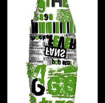 Coca - Cola tipográfica. Un proyecto de Diseño de María Estrada-Nora Bustillo         - 21.11.2013
