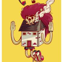 king of the house . Um projeto de Design e Ilustração de joel berrelleza         - 21.11.2013