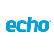 Logo Echo World, marca de accesorios para dispositivos móviles 2014. Un proyecto de Diseño de Refrito Studio  - 09-10-2013