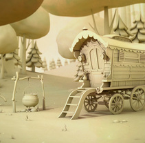 Wagon Environment. A 3D project by Érika G. Eguía - 17-10-2013