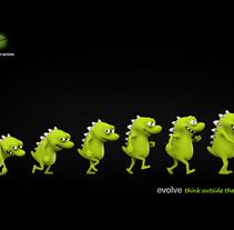 Desarrollo de mascota para Syntheractive . A Design, and 3D project by Érika G. Eguía         - 30.03.2013