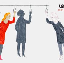 LE COOL Barcelona. Un proyecto de Ilustración de Iratxe López de Munáin - Miércoles, 10 de abril de 2013 00:00:00 +0200