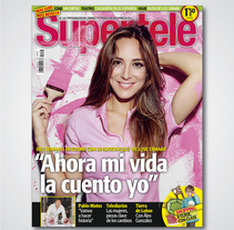 Diseño editorial para revista Supertele. A Design project by Blanca  - Nov 27 2013 12:00 AM