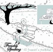 Ilustraciones para página web Frenchly speaking. Un proyecto de Ilustración de Anne Derenne         - 26.11.2013