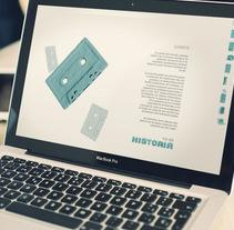 """""""Ya es historia"""" Web Identity Development for Janssen-Cilag™. Um projeto de Design, Publicidade, Desenvolvimento de software e UI / UX de Fran Fernández         - 31.08.2012"""
